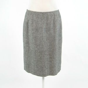 Black ivory CALVIN KLEIN pencil skirt 6